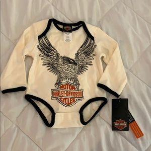 NWT Harley onesie